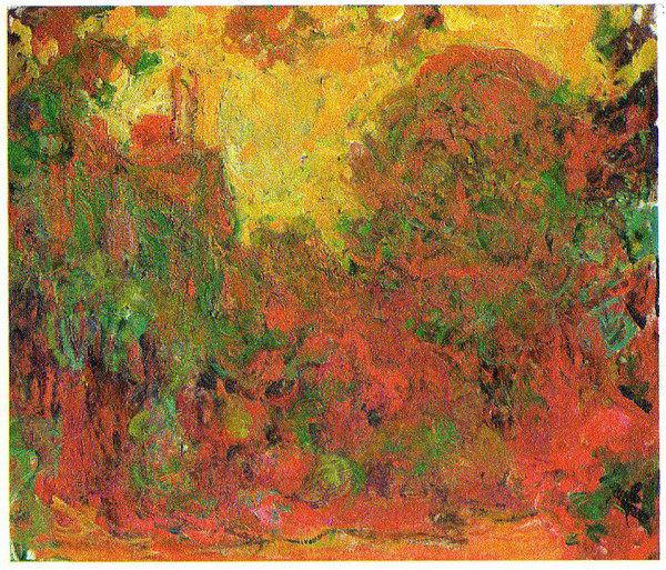 1922-24 由玫瑰花園眺望住屋_81x92cm.jpg