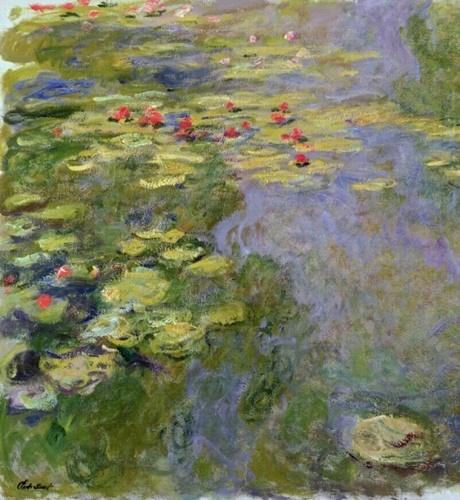 1917-19 睡蓮池the waterlily pond_130x120cm.jpg