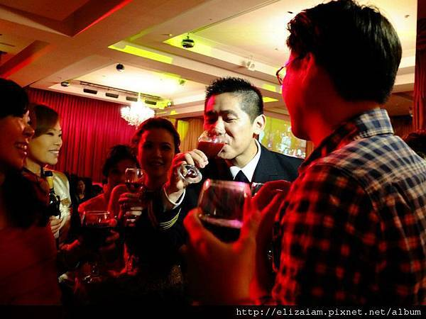 Special drinking for bridegroom