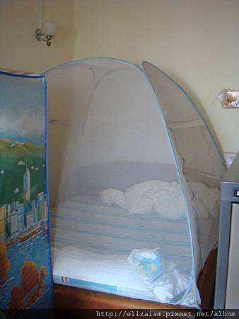 mosquito net / bubble bed