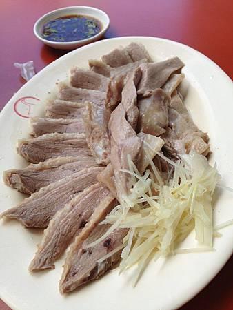 鮮美多汁的鵝肉
