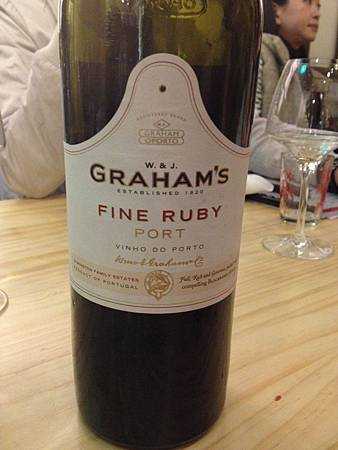 Graham's Ruby port NV	 Ch. Grandis Haut Medoc 2009