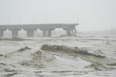 莫拉克颱風-斷橋