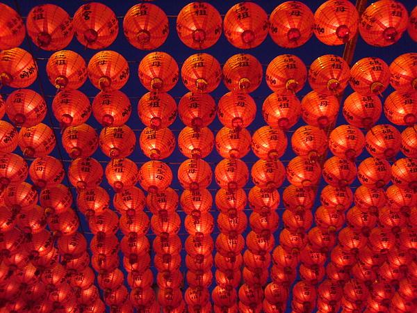 旗津天后宮廟的燈籠.JPG