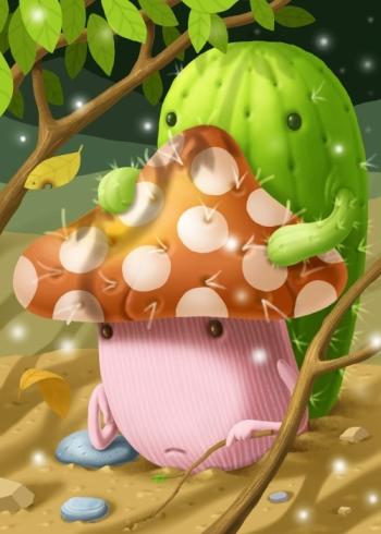 憂鬱的菇3_小小.JPG