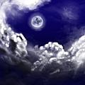 004夜晚明月