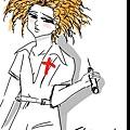 20110520-小艾有著貧乳的身材,有著橙色的爆炸頭髮型,配上護士服,屬性是病嬌,實在太萌了!.jpg