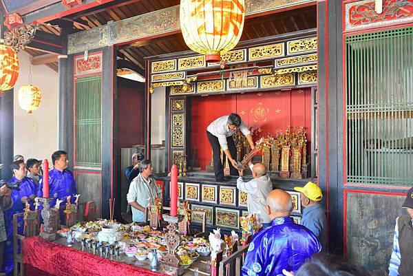 蔡氏家廟年度秋季祭祖儀典 (10)