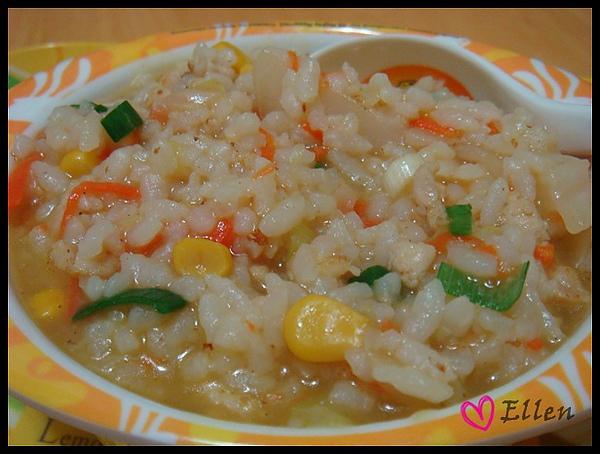 雞蓉玉米粥