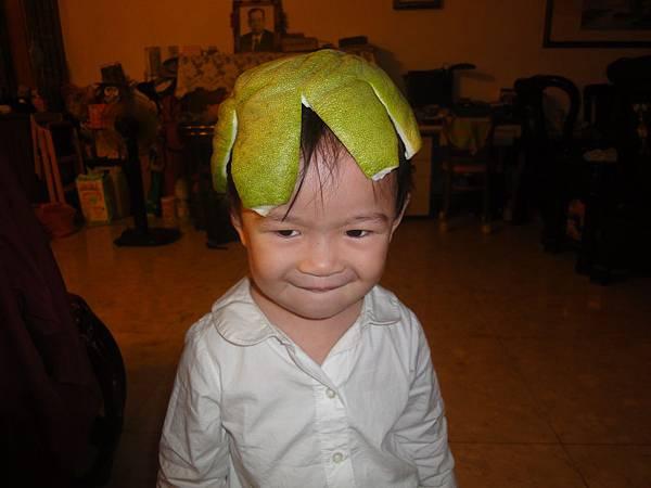 2011/9/27 戴著柚子帽帽