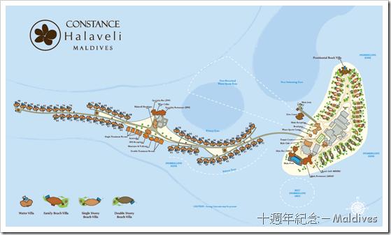constance halaveli resort map