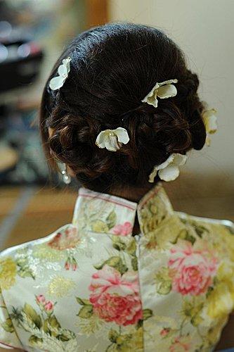 旗袍古典美-編髮