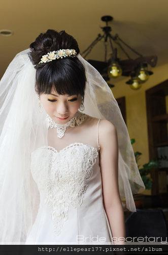 白紗造型-赫本