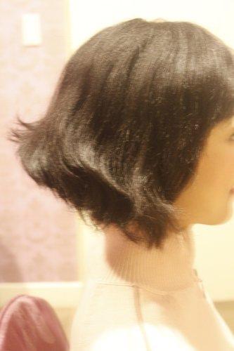 其實她是短髮新娘呦