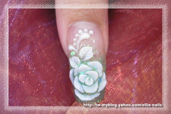 扁型玫瑰粉雕