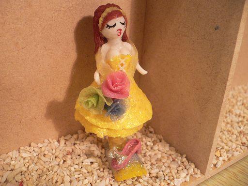 娃娃三D立體粉雕