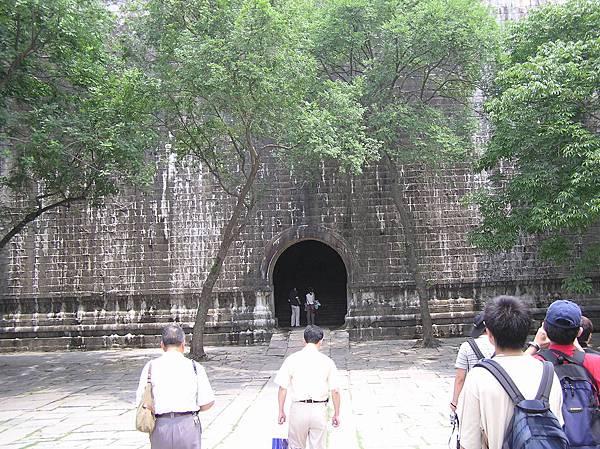 明孝陵入口