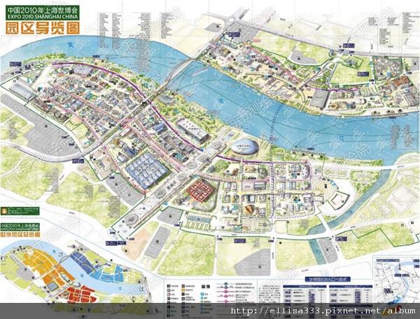 上海世博地圖
