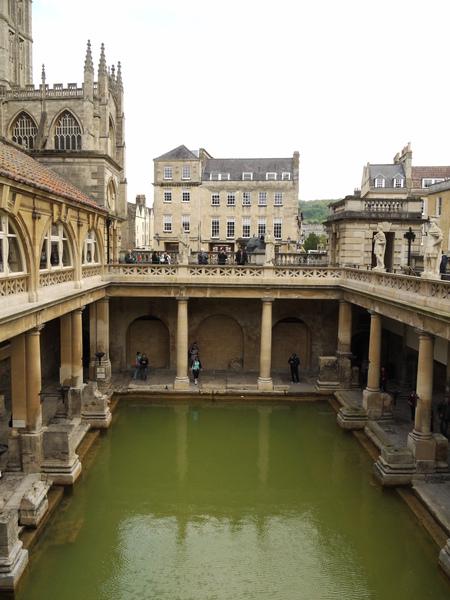 英國巴斯(二)古羅馬浴池