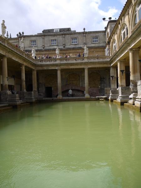 英國巴斯(二)古羅馬浴池 1