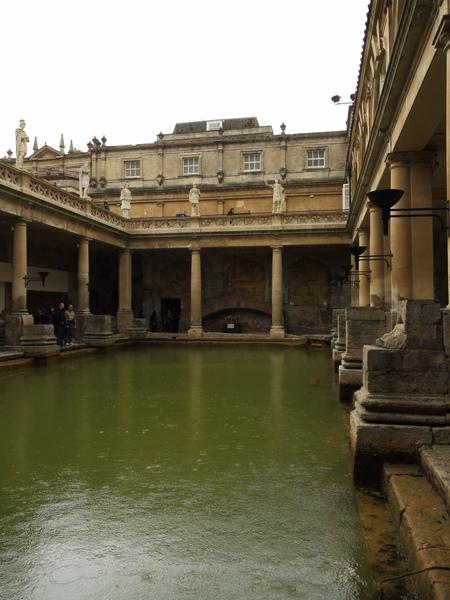 英國巴斯(二)古羅馬浴池 3