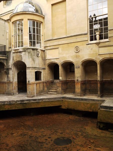 英國巴斯(二)古羅馬浴池 6