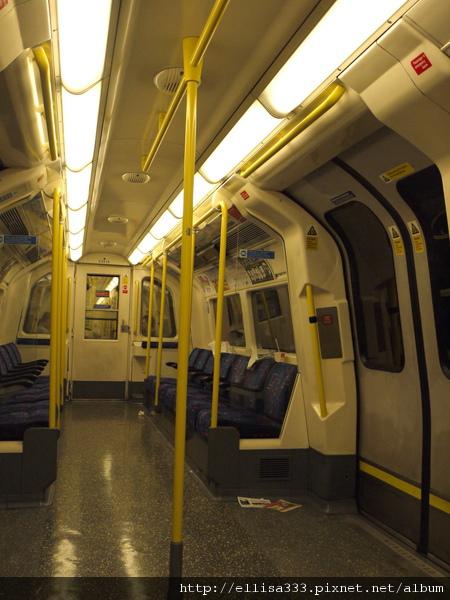 英國地鐵的髒亂