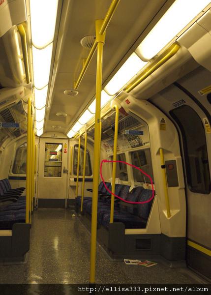 英國髒亂的地鐵