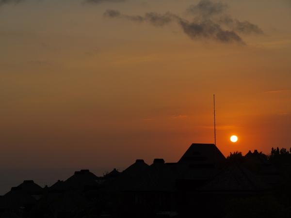 Bali 巴里島寶格麗 BVLGARI Villa 日落2