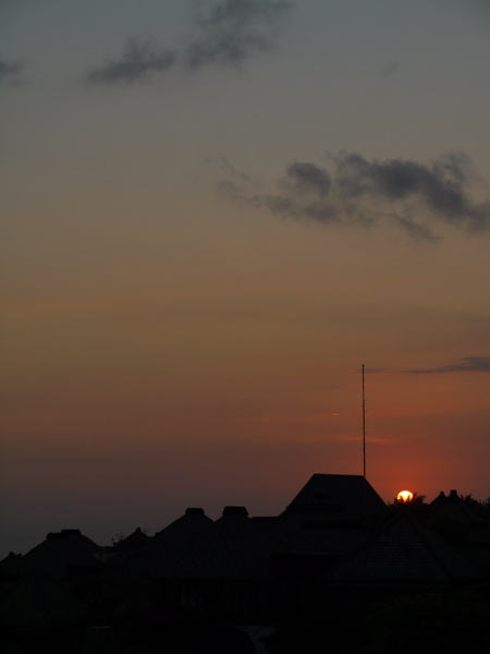 Bali 巴里島寶格麗 BVLGARI Villa 日落5