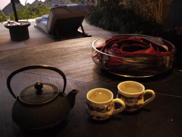 Bali 巴里島寶格麗 BVLGARI Villa Room service