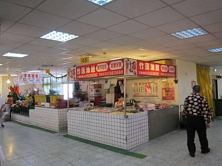 一上來就可以看到赫赫有名的竹連油飯