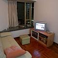 有著小電視的小客廳