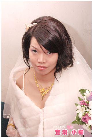 很會抓鏡頭的新娘