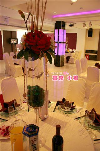 桌花、紅酒、果汁