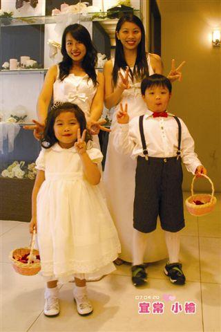 伴娘和小花童