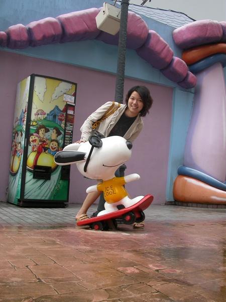 划滑板~~