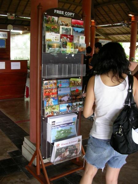 貼心的提供很多當地旅遊資訊~