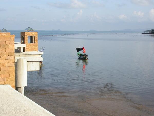 我們從KOH SAMUI出發的碼頭