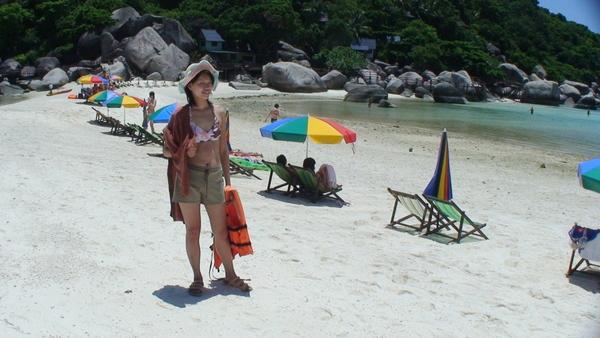 這裡是貝殼砂灘呢~