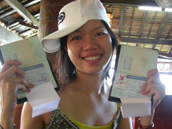 Visa和Boarding card