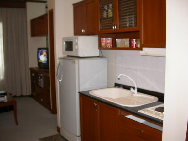 也有個小廚房
