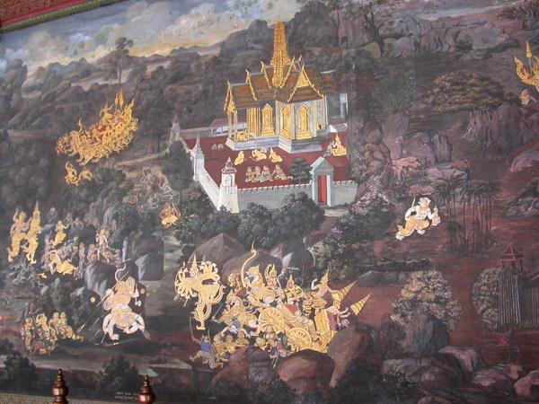 共有178幅壁畫