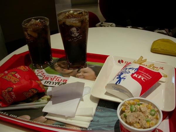 突然想吃遍全世界的KFC