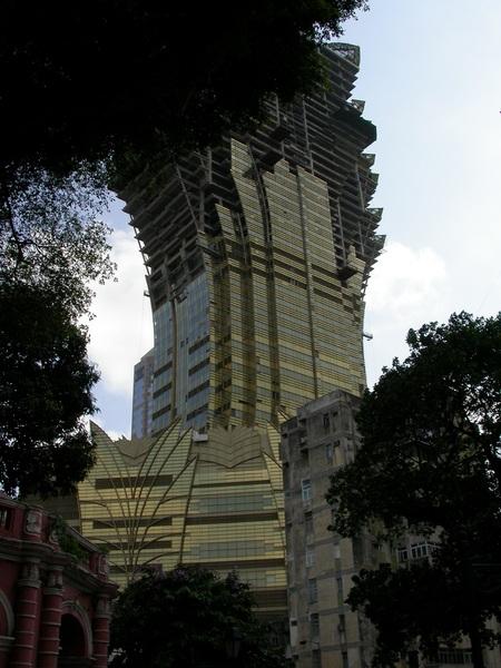 誇張的建築