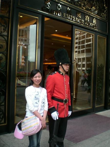 英皇酒店來一張