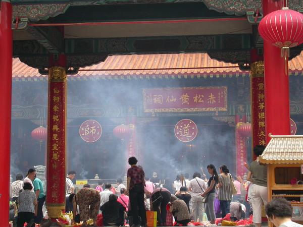 黃大仙廟-主祠