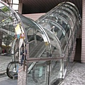 香港藝術館電扶梯