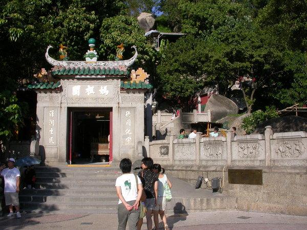 媽閣,也就是Macau這名的起源唷~