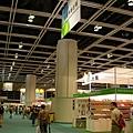 香港書展2007,場地超大,逛起來不像台北書展那麼擁擠